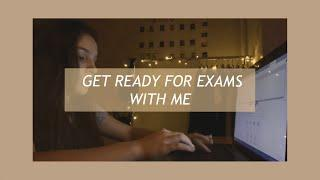 GET READY FOR EXAMS  WITH ME|Моя подготовка к ЕГЭ