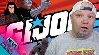 G.I. Joe's Character Snake Eyes Getting Spinoff Movie and More Retro News!