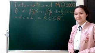 International Mathematical Olympiad | math Olympiad training | proof of inequalities
