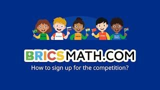 How to sign up for BRICSMATH competition?