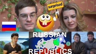 Russian reaction to RUSSIAN REPUBLICS Explained Geography Now!   Crimea, muslims & mongolian songs