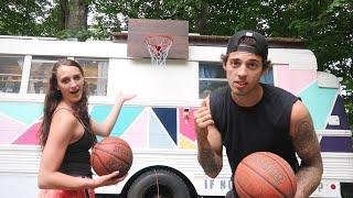 We're Leaving Everything Behind | But Taking A Basketball Hoop With Us